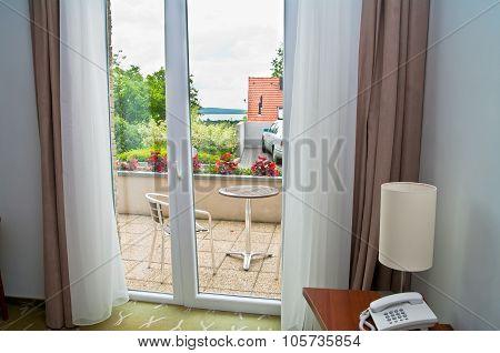 Modern Hotel Terrace