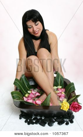 Botanical Foot Bath