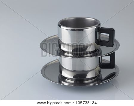 stainless steel expresso coffee cup