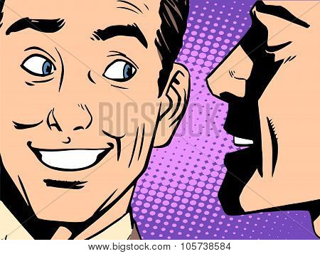 Gossip business concept
