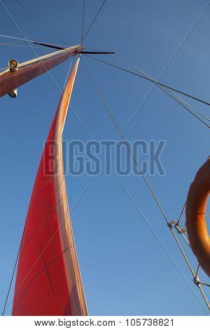 Yacht Mast - Stock Image