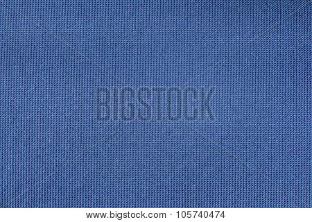 Blue smooth canvas textured background.