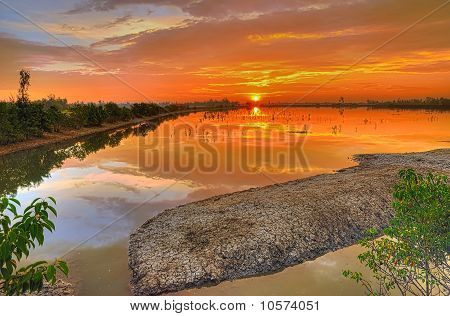 Dramatic Sunrise Colors