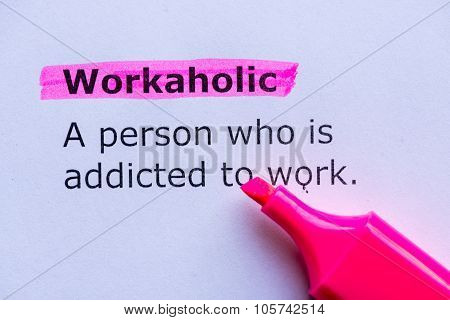 Workaholic