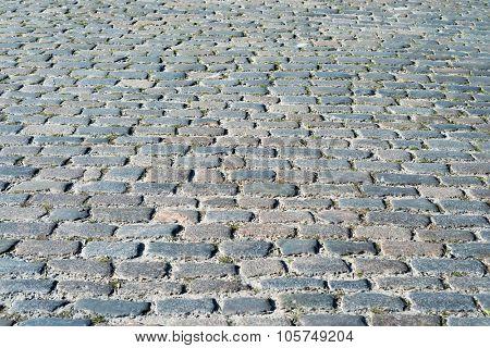 cobblestone as background