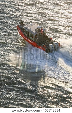 Us Coast Guard Motorboat