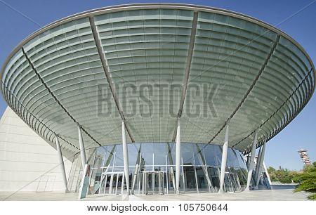 Modern Edifice That Resembles A Ufo