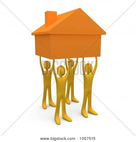 Holding A House #2