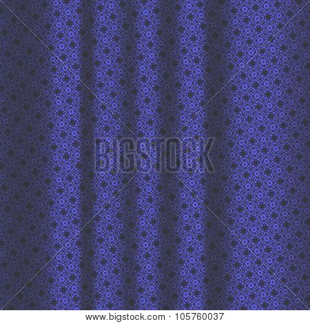 Dark Blue Pattern Drapery Seamless Background Texture.