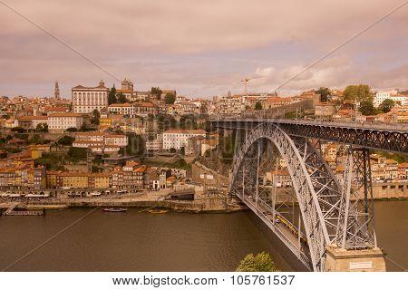Europe Portugal Porto Ribeira Old Town Douro River