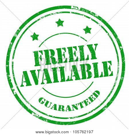 Freely Available-stamp