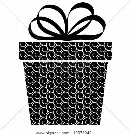 gift box and with bow