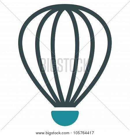 Aerostat Flat Icon