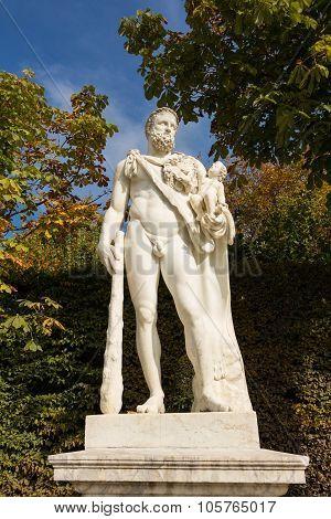The Sculpture Of Versailles Castle.