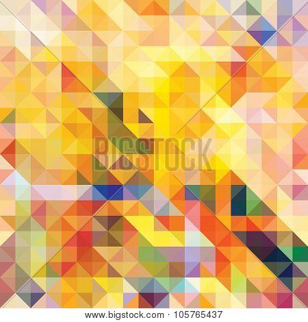 Abstract seamless pattern. Mosaic. Vector.