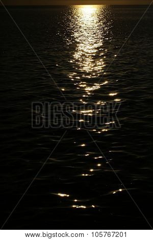 Magic Moon Glade On Dark Sea