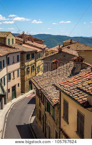 Tuscan Town Street