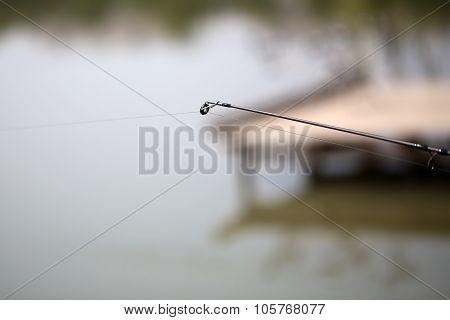 Closeup Of Fishing Tackle