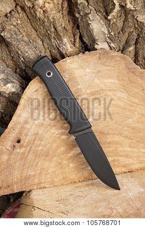 Knife The Hunting Black