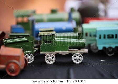 Scaled Retro Steam Train Collection