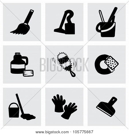Vector Clearning icon set