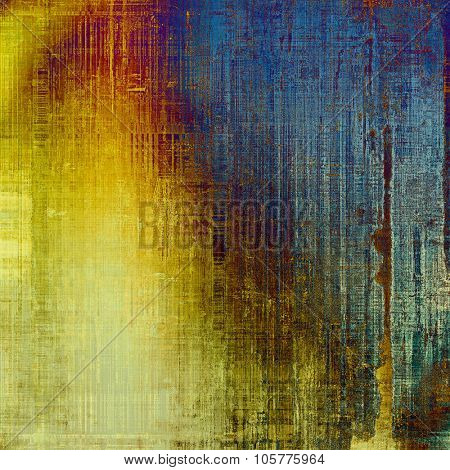 Old texture - perfect background with space for your text or image. With different color patterns: yellow (beige); brown; blue; cyan