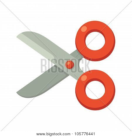 Cartoon Scissors Icon