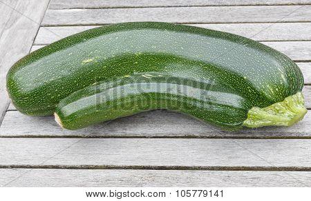 Freshh Courgettes Or Zucchini
