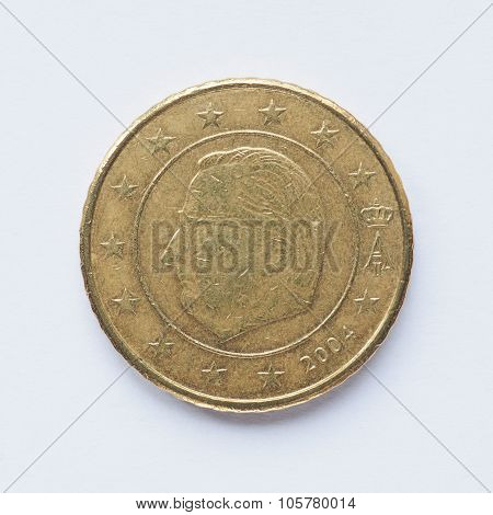 Belgian 50 Cent Coin