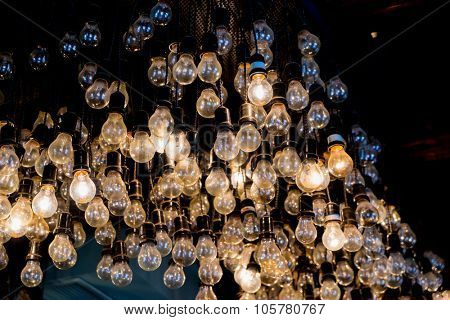 Decorative antique edison style light bulbs