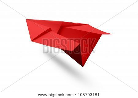 Paper Airplane Isolated