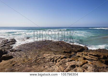 Ocean Rocky Coastline