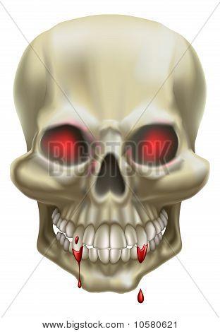 Red Eye Skull