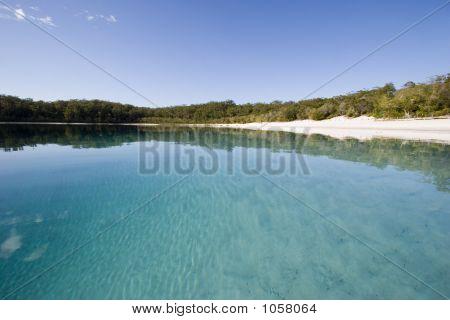 Landscape Of Lake Mckenzie 2