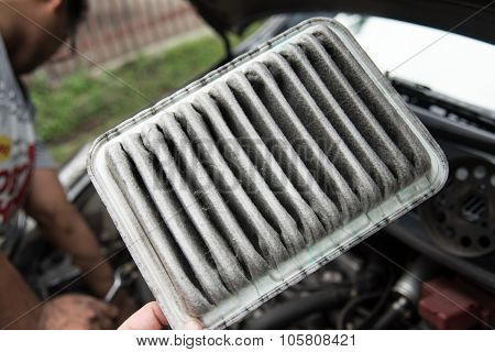 Old Car Air Filter