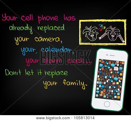Your cell phone