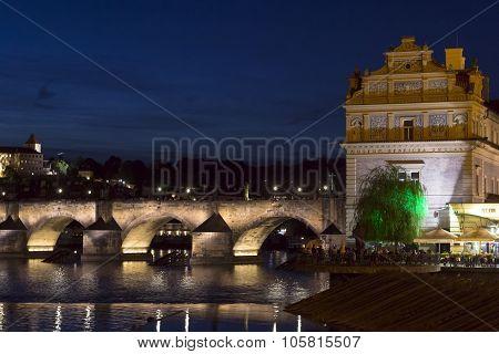Charles Bridge, Muzeum Bedricha Smetany And Prague Castle