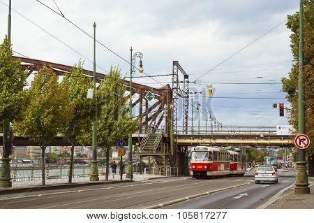 Retro Tram Skoda