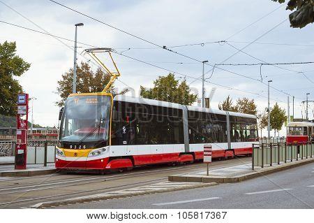 Modern Tram Skoda