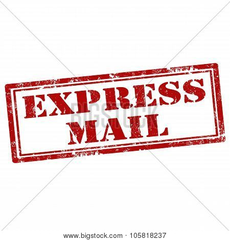 Express Mail-stamp