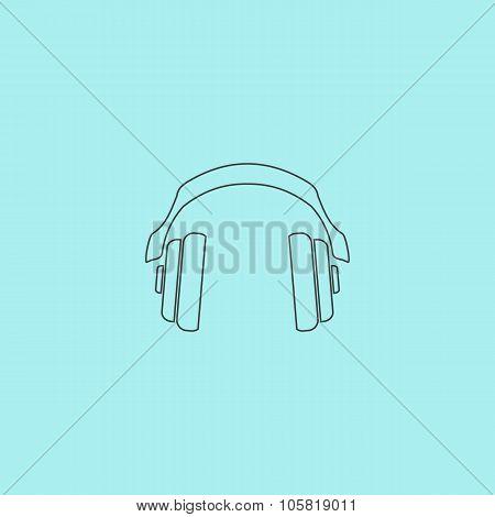 retro headphone