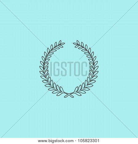 Victory laurel wreath