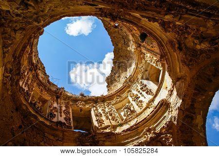 Ruins Of The Convento De Monjes Servitas, Teruel, Aragon, Spain