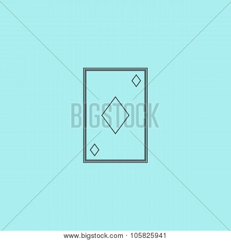 Diamonds card icon
