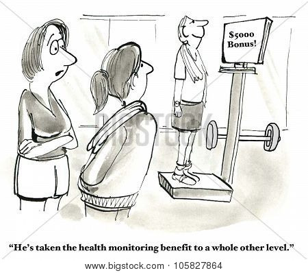 Health Monitoring Benefit