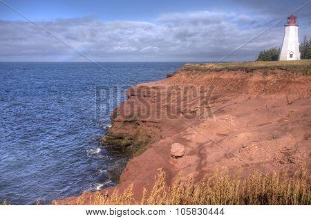 Seacow Head Lighthouse; Prince Edward Island coastline