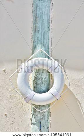 life ring buoy preserver