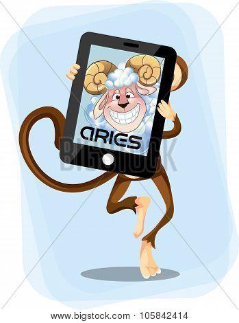 Aries Monkey  Horoscope