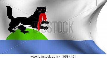 Flag Of Irkutsk City, Russia