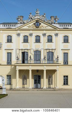 Branicki Palace Facade, Bialystok, Poland